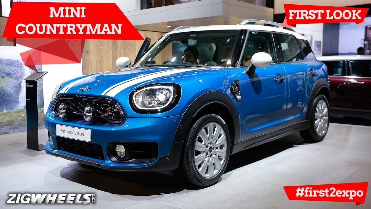 MINI Countryman | First Look | Auto Expo 2018 | ZigWheels.com