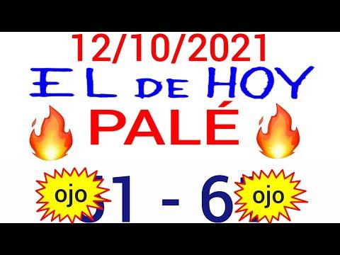 NÚMEROS PARA HOY 12/10/21 DE OCTUBRE PARA TODAS LAS LOTERÍAS..! Números reales 05 para hoy..!