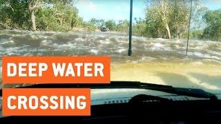 Impressive Deep Water Crossing | Land Cruiser