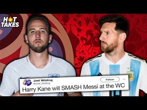 """Harry Kane Will Outscore Messi & Ronaldo At The World Cup"" 
