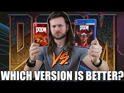 Nintendo Switch DOOM vs PS4 DOOM VFR vs Original 2016 DOOM