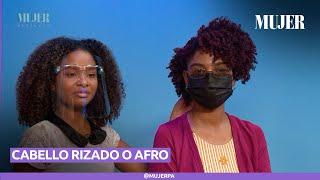3 Peinados para cabello rizado o afro ¡Hermosos y fáciles!  | Mujer