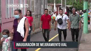 La Alcaldía de Managua avanza en la ejecución de los proyectos programados en Calles para el Pueblo