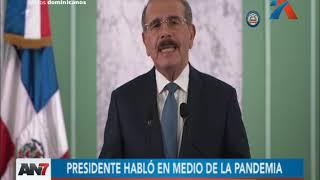 Presidente Medina anunció diversas medidas económicas y sociales