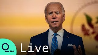 LIVE: Biden Delivers Remarks in Wilmington, Delaware