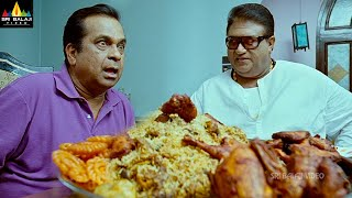 Naayak Movie Brahmanandam and JP food Comedy | Latest Telugu Scenes | Ram Charan @SriBalajiMovies - SRIBALAJIMOVIES