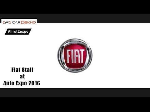 Fiat Stall @ Auto Expo 2016 | CarDekho.com