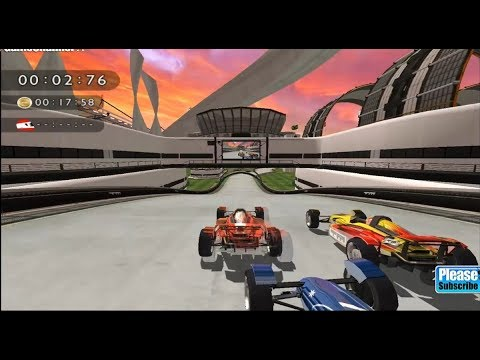 Track Mania Build To Race Nintendo Wii / Speed Cars Racer Games / Android Gameplay Video