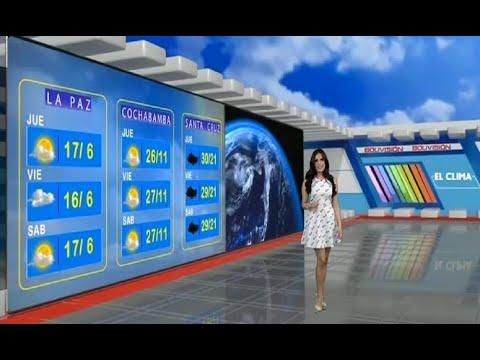 El Clima de Bolivisión: Pronóstico del 08 de abril del 2021