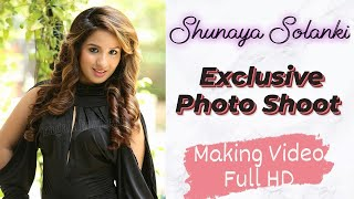 Shunaya Solanki | Exclusive Photo Shoot Making Video Full HD | Ragalahari - RAGALAHARIPHOTOSHOOT