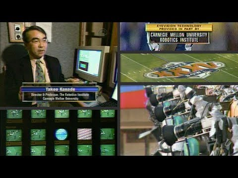 Takeo Kanade and EyeVision : Super Bowl 35 : January 2001