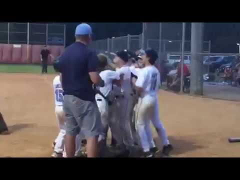 Two-Run Home Run With An Easton S3