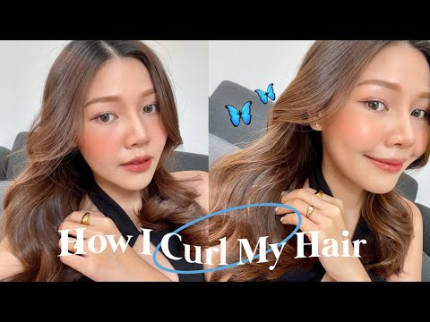 HOW-I-CURL-MY-HAIR-🧵-สอนม้วนผม