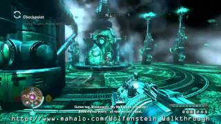 Wolfenstein Walkthrough - Mission 10: Black Sun - Hans Grosse Boss Fight Part 1