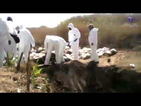 Alvarado Silva confirma localización de 40 fosas clandestinas en SLP.
