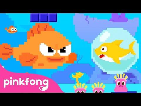 8-Bit-Baby-Shark- -Nursery-Rhy