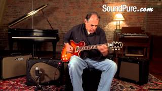 Collings City Limits DLX Cherry Sunburst Les Paul Style Guitar Demo