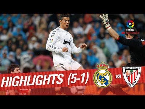 Resumen de Real Madrid vs Athletic Club (5-1) 2009/2010