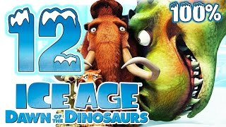 Ice Age 3: Dawn of the Dinosaurs Walkthrough Part 12 ~ 100% (PS3, X360, Wii, PS2, PC) Level 12