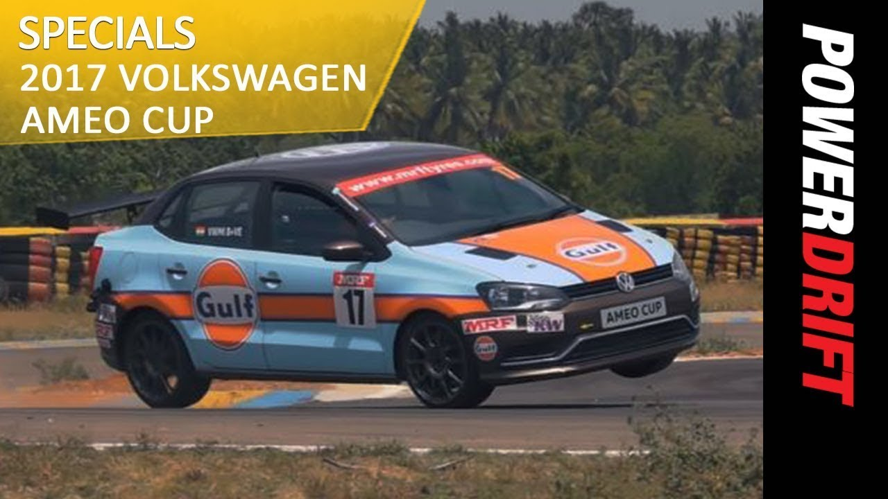 PowerDrift Specials - 2017 Volkswagen Ameo Cup : PowerDrift