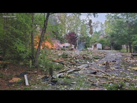 Victims identified after home explosion near Blairsville