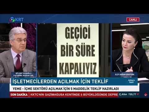 BÜLENT KUŞOĞLU KRT TV 21/01/2021