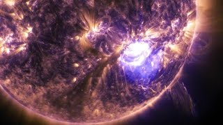 NASA | Holiday Lights On the Sun