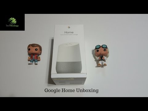 Google Home Unboxing & First Impressions