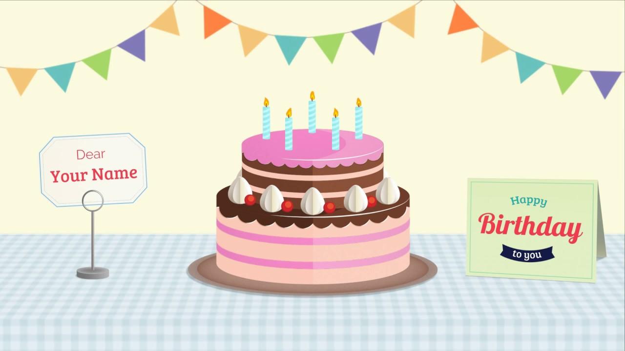 Birthday Video Maker Online