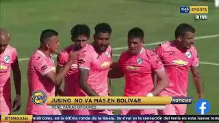 #TSNoticias ???? Jusino no va mas en Bolivar