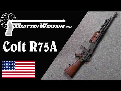 connectYoutube - Colt R75A: The Last Commercial BAR (With Shooting)