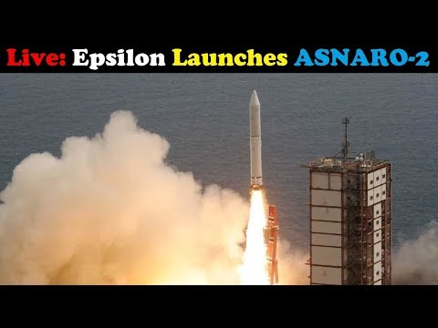 connectYoutube - LIVE: Epsilon-3 Rocket Launches ASNARO-2 (NEC Small Radar Satellite)