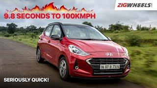 🚗 ಹುಂಡೈ ಗ್ರಾಂಡ್ ಐ10 ನಿವ್ಸ್ turbo: 9.8 seconds ಗೆ 100kmph! | ರೋಡ್ ಟೆಸ್ಟ್ ವಿಮರ್ಶೆ | zigwheels.com