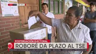 Autoridades de Roboré dan ultimátum al TSE para suspender las elecciones