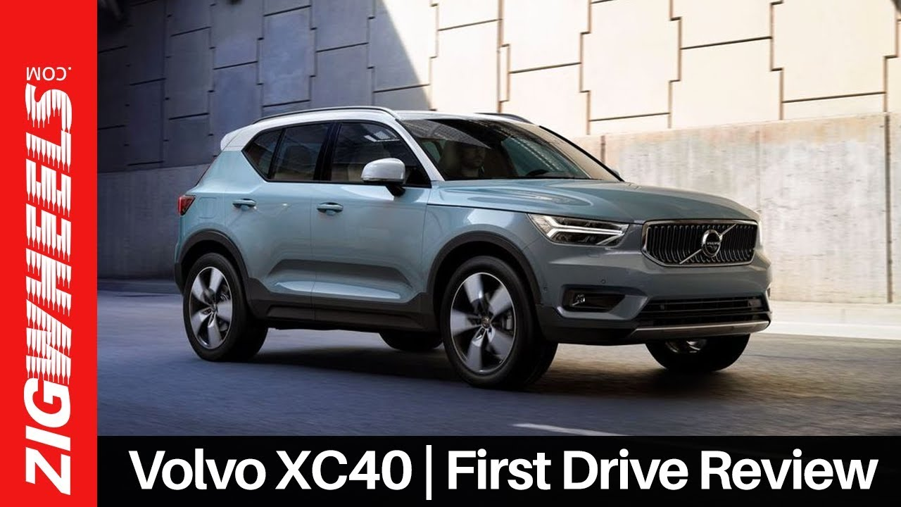 Volvo XC40 | First Drive Review | ZigWheels.com
