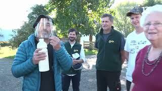 Conocimos una familia cuya tradición en la producción de leche. Recomiendo Chile, 2021.
