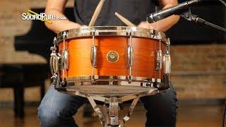 Gretsch 6.5x14 USA Custom Maple Snare Drum Burnt Orange—Quick 'n' Dirty