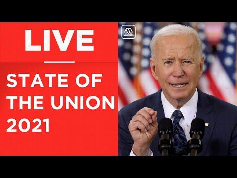 LIVE | Joe Biden's speech to Congress - State of The Union 2021