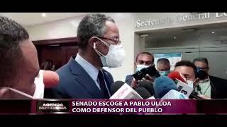 El senado escoge a Pablo Ulloa como nuevo Defensor del Pueblo