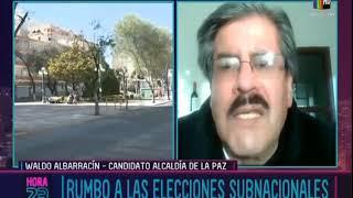 Sol.Bo, CC y UN se unen con Waldo Albarracín