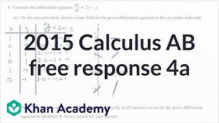2015 AP Calculus AB/BC 4 a-b