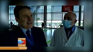 Regresa a Cuba brigada médica que combatió la COVID 19 en Andorra