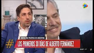 Los primeros 30 días de Alberto Fernández: Habla el ministro Nicolás Trotta