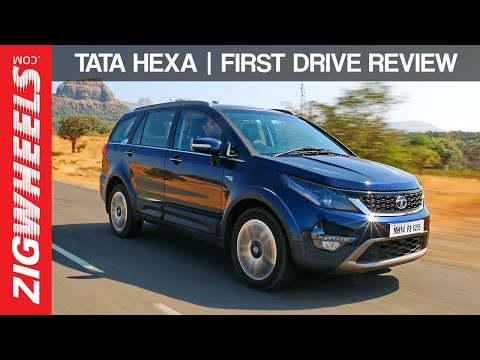 Tata Hexa | First Drive Review | ZigWheels India