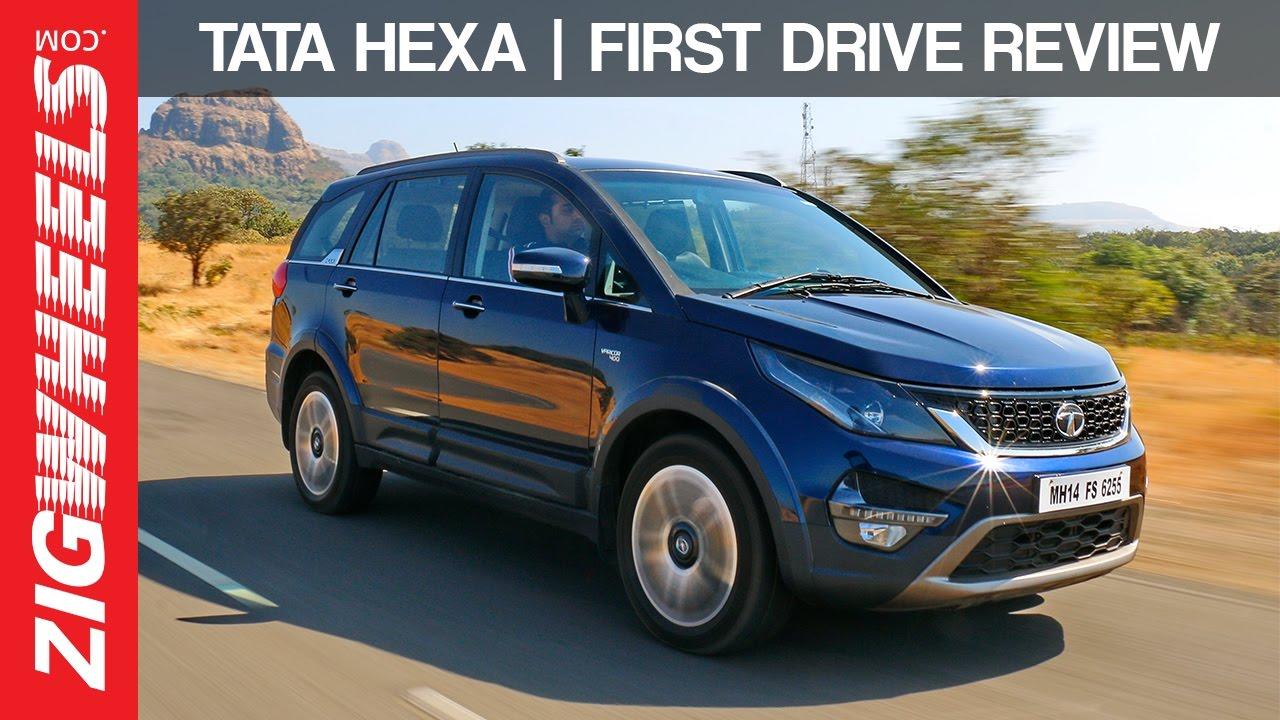Tata Hexa | First Drive Review | ZigWheels India