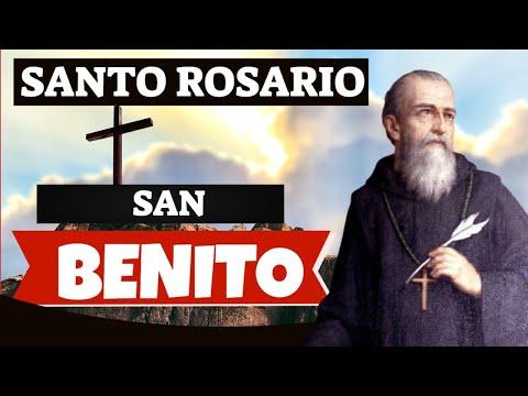 SANTO Rosario a San Benito de LIBERACIÓN y PROTECCIÓN