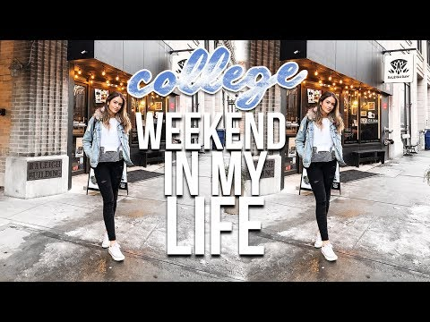 connectYoutube - COLLEGE WEEKEND IN MY LIFE: NC State University | Natalie Barbu