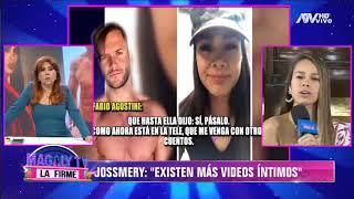 Jossmery Toledo a Fabio Agostini: