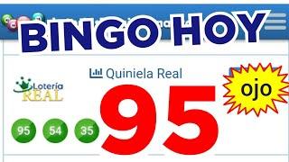 RESULTADOS de HOY..!! (( 95 )) BINGO hoy..!! loteria REAL DE HOY..! Números reales 05 para hoy..!!