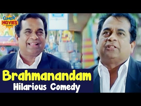 Best Comedy Scenes | Brahmanandam Comedy Video | Ek Aur Jigarbaaz Film | Hindi Comedy Videos